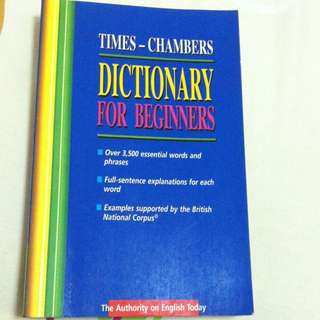 English Dictionary For Beginners