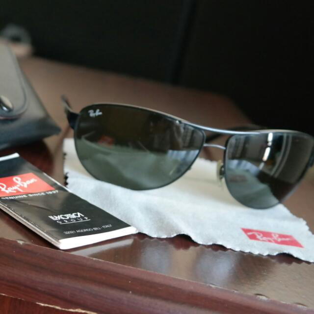 e66f4bc11c Ray Ban Warrior Sunglasses , Men's Fashion on Carousell
