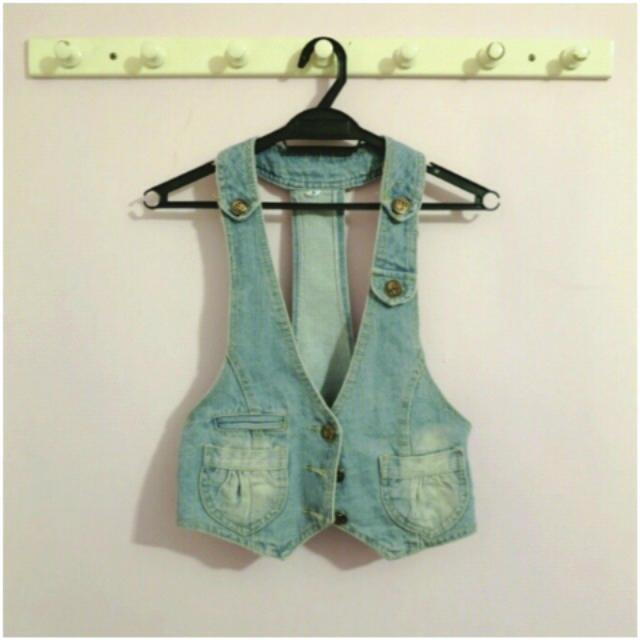 Stylish Denim Vest