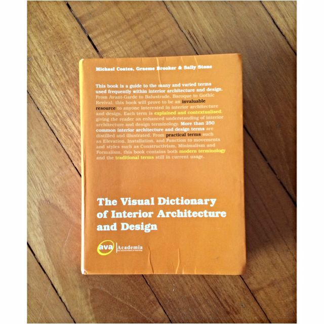 Visual Dictionary of Interior Architecture & Design