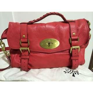 Mulberry ALEXA 2way handbag Pink (Watermelon) HH7539-671-L175