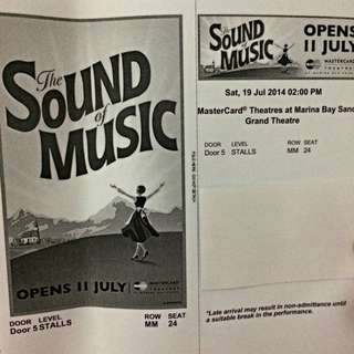 Tickets for Sound Of Music Play