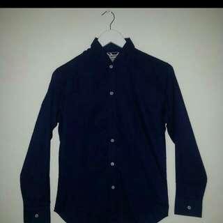 Dark Blue Oxford Shirt. Price Reduced!