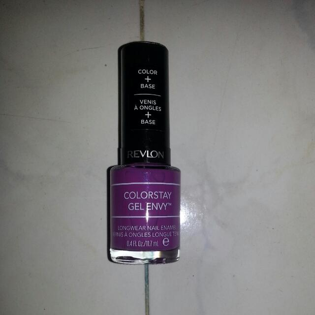 REVLON GEL ENVY NAIL POLISH, Health & Beauty on Carousell