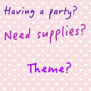 Looking For Party Supplies?