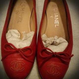 Chanel Ballerina Pumps 35C