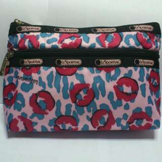 LeSportsac Cosmetic Clutch in Lip Smacker