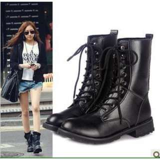 [Price Reduced]Dr Mart Inspired Combat Boots