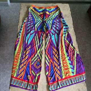 Cotton Prints Flare Pants