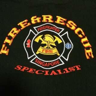 Fire Fighter S'pore T-Shirt