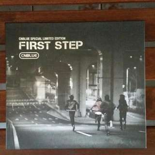 CN BLUE FIRST STEP SPECIAL CD & PHOTOBOOK Limited Ed.
