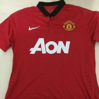 Manchester United 2013-2014 Home Jersey