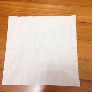 A Piece Of Tissue Paper