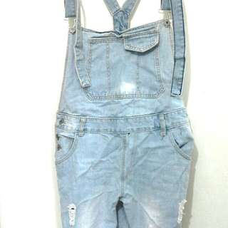 (Reserved) Brand New Denim Overalls Size XL