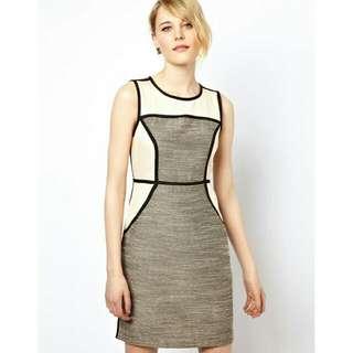 ASOS Villa Office Dress UK 10-12