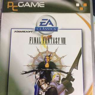Classic FF8 PC Game From EA