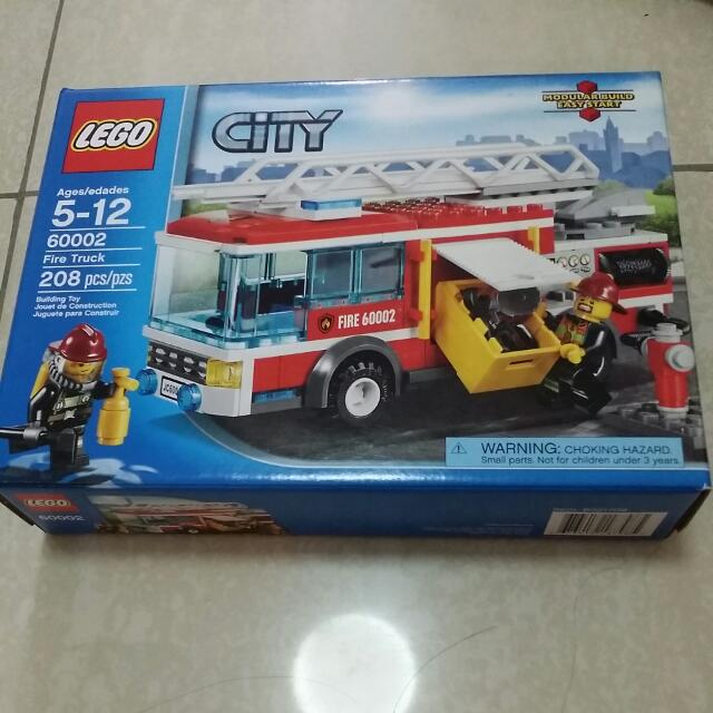 LEGO City Fire Truck 60002, Toys & Games on Carousell