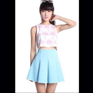 (Pending)Thetinselrack Flippy Scuba Skirt Size L