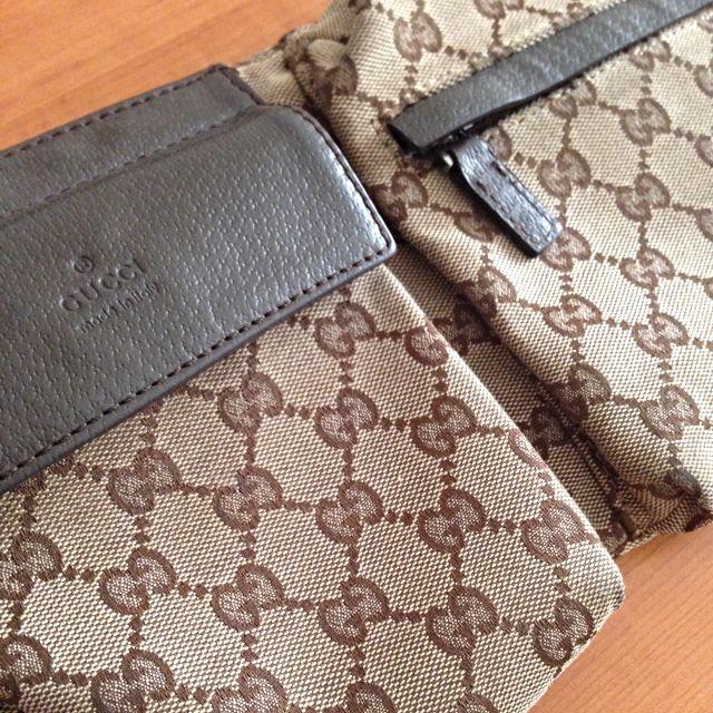 Gucci Canvas Belt Bag Duplicate