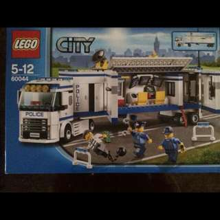 (BNIB) Lego City 60044 Mobile Police Unit Set