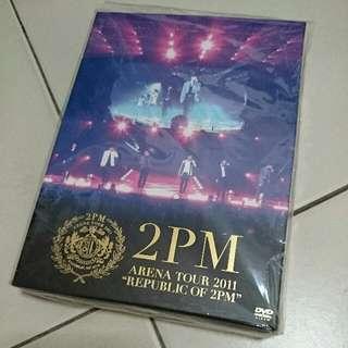 """2PM Arena Tour 2011 """"Republic of 2PM"""""""