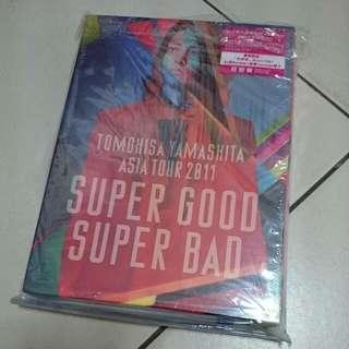 "Tomohisa Yamashita Asia Tour 2011 ""Super Good Super Bad"" LE DVD (TW Ver.)"