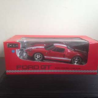 Radio Control  Model 1:18 Scale Ford GT . Condition As New On Display Only .