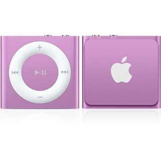 iPod shuffle 2GB (pink)