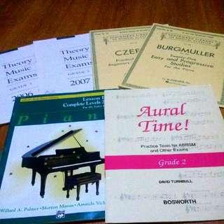 Piano Books Grade 2 And Grade 3