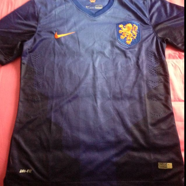 new product fec68 97b08 Netherlands WC Away Kit (Player Issue)