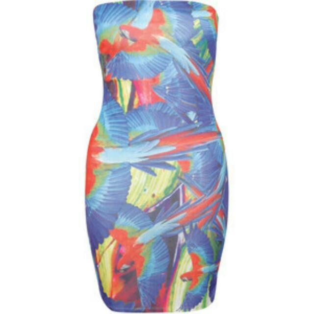 Paprika London Tropical Parrot Dress