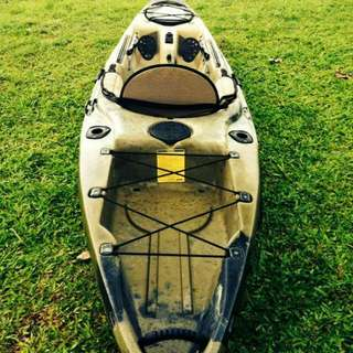 Native Camo Manta Ray 12 Handpadle Hardshell Kayak