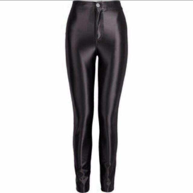 ec6e9d07056be H&M Disco Pants, Women's Fashion on Carousell