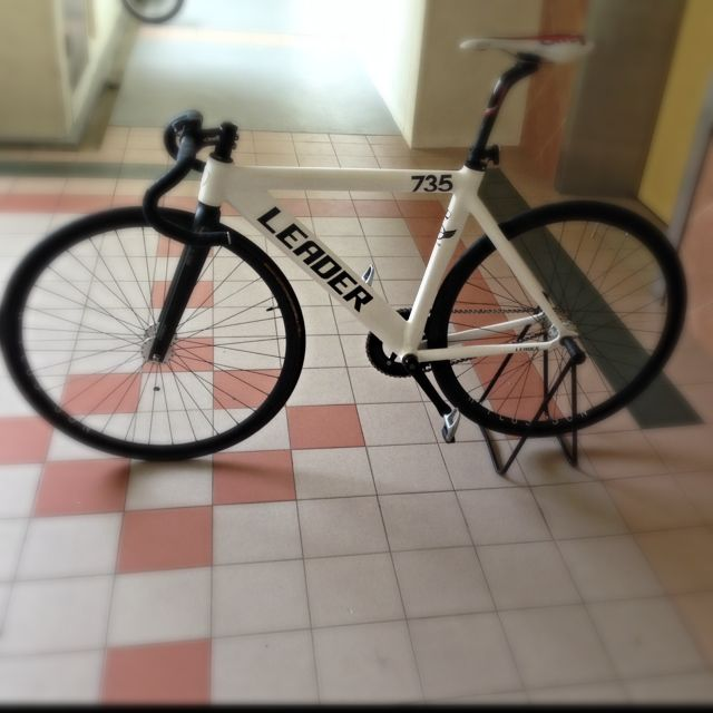 Leader 735 2014 frame , fork and Fsa headset, Sports on Carousell