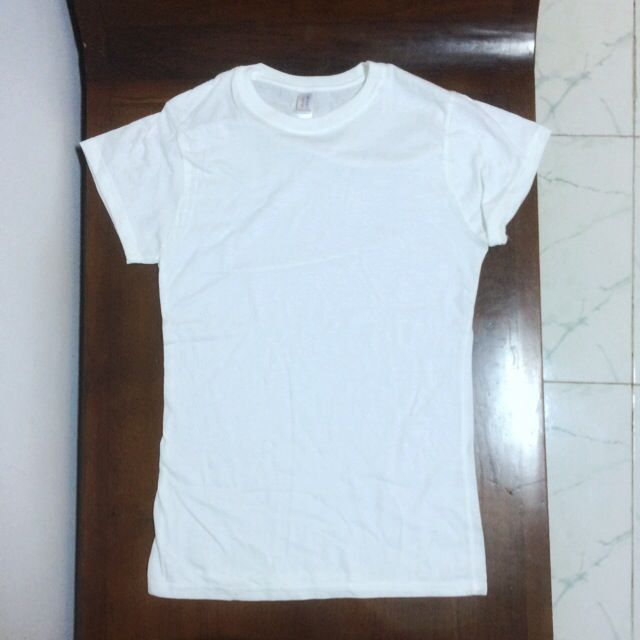 Plain White T-Shirts (Tshirt Gildan T-Shirt Custom Print Cotton Tees Tee  Blank DTG Silkscreen)
