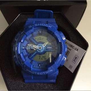 Casio G-shock Hyper Blue GA110BC