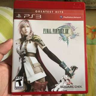 PS3 Games : Final Fantasy XIII