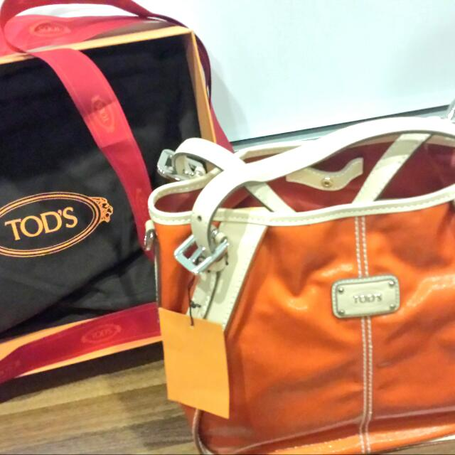 Authentic TODS BAG NEW G SACCA MINI