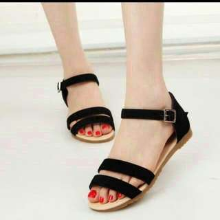 DOUBLE STRAP SANDALS(INSTOCK)