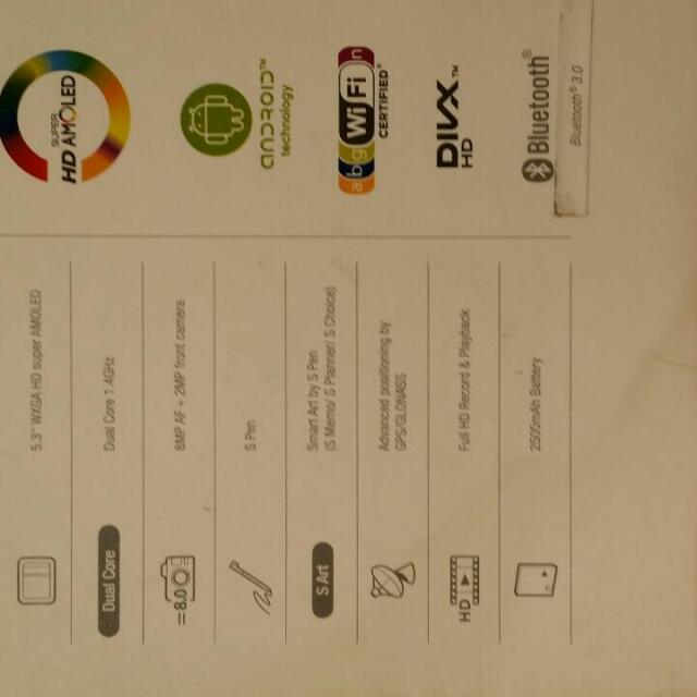 Samsung Note 1 (PENDING)
