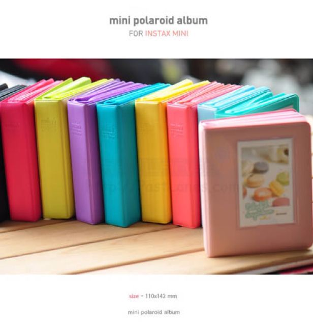 Mini Polaroid Album Instax Mini Film 641 Slots Photography On