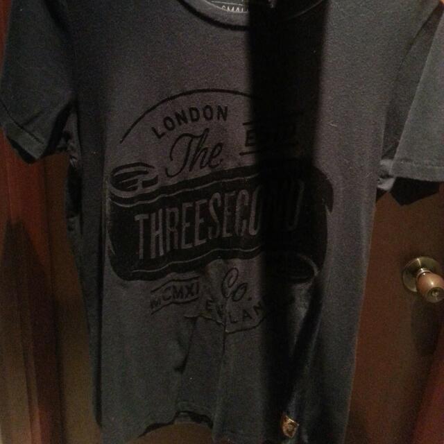 Three Second Suede Tshirt