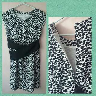 Pre-loved Black Motif Dress