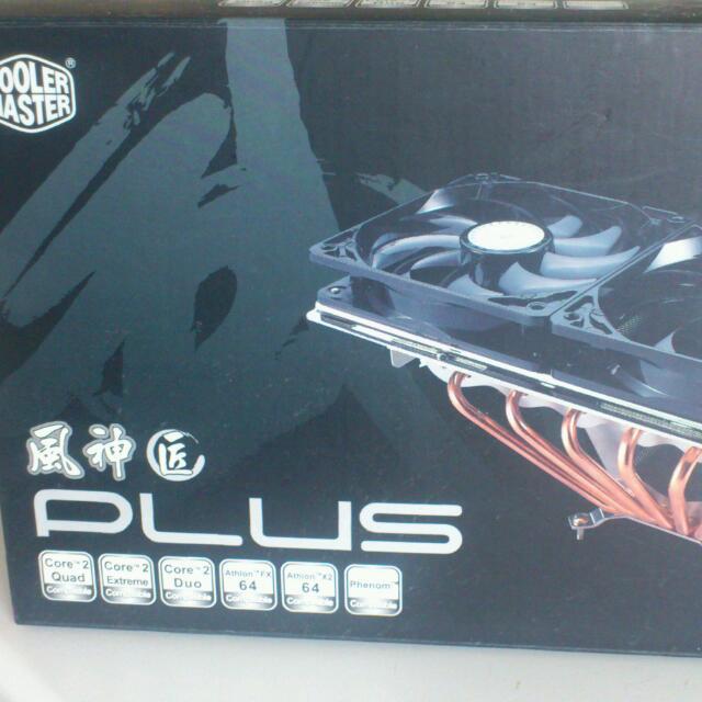 Cooler Master Plus CPU & Mobo Cooler