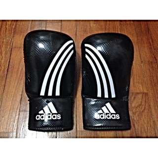 Adidas CLIMACOOL Response Boxing Gloves ( Black/White )