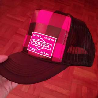 Brand New Red Checked Cap