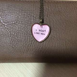 """""""I Don't Like You"""" Necklace"""