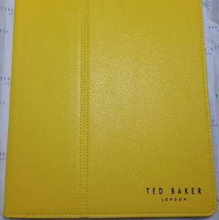 Yellow Ted baker iPad Cover