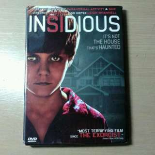Insidious DVD (First Movie)