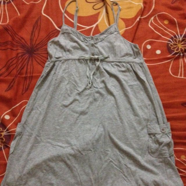 Light Grey Basic Dress